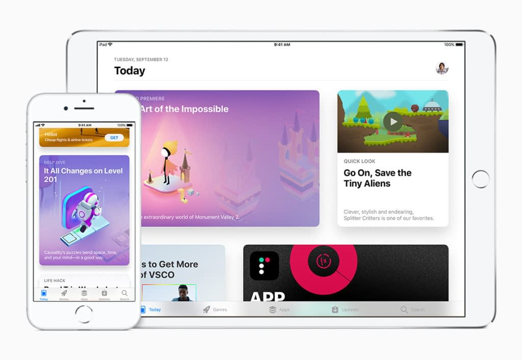 Apple App Store Visuals