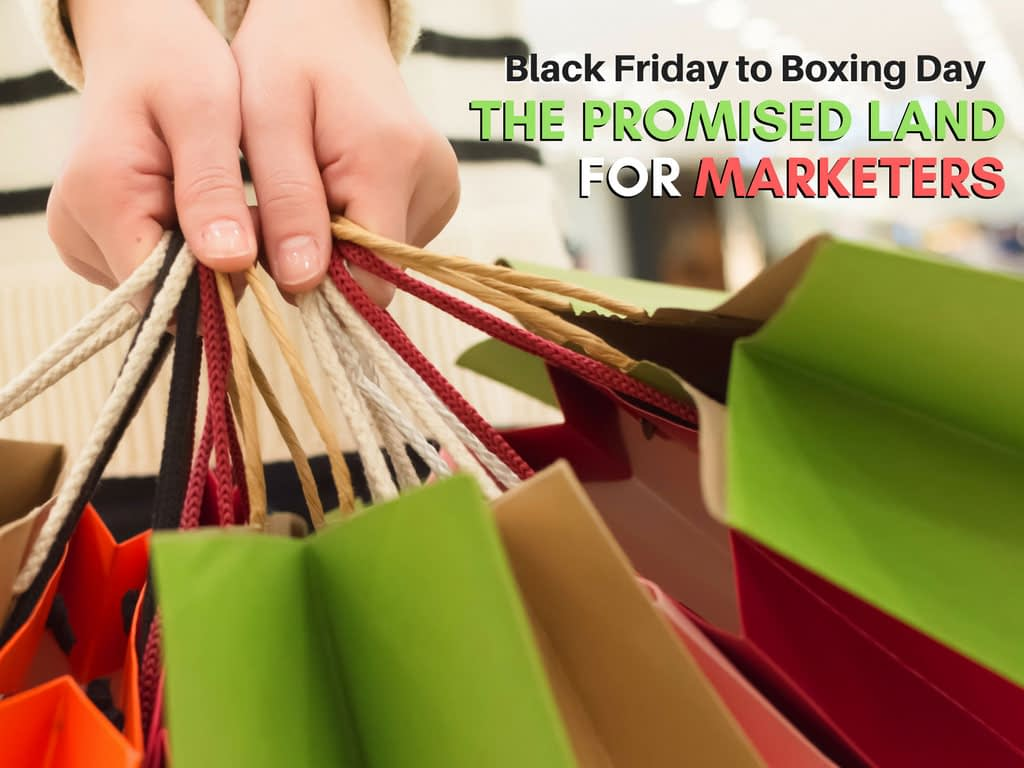 Black Friday to Boxing Day