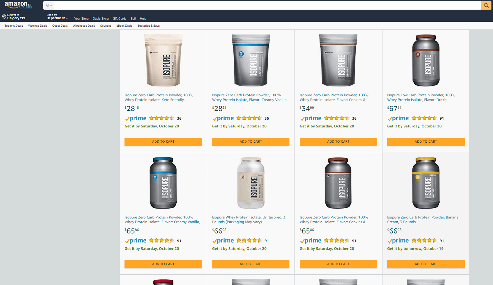 Image of Amazon Product Page